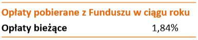 opłaty fundusze akcji