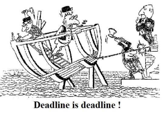 deadline is deadline finanse osobiste