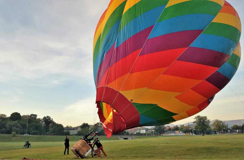 Podnoszenie balonu