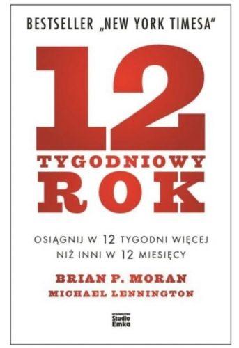 Okładka książki 12-tygodniowy rok