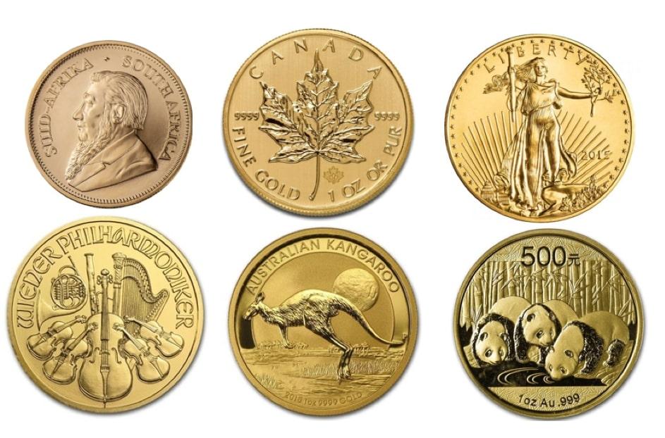 Najbardziej znane monety bulionowe - zdjęcie.