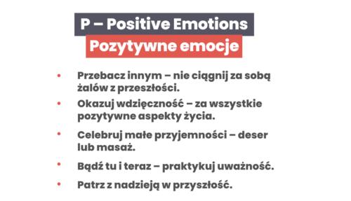Co sprawia, żeczłowiek jest szczęśliwy - pozytywne emocje.